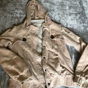 ALLIHOP Sherpa Lined Hooded Jacket